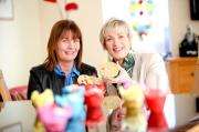 Anna Taggart Yummy Bakes and Margaret Hearty InterTradeireland