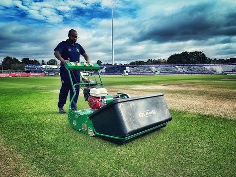 G34D in use at Durham CCC