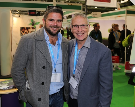 Lord's new head groundsman Karl McDermott with TurfPro editor Laurence Gale