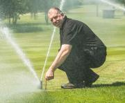 Ed Stant, course manager at Trentham Golf Club