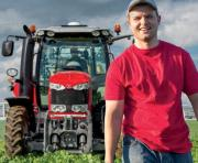 Massey Ferguson are offering Young Farmers a special finance deal