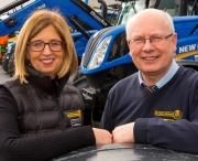 Bernadette and Dick Murphty of Murphy Motors win New Holland Irish Dealer of the Year