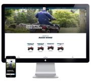 Suzuki's new ATV website