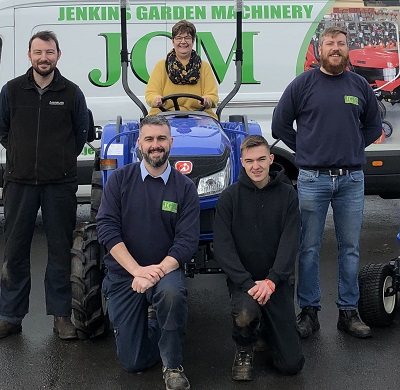 Jenkins GM have taken on the ISEKI franchise