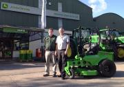 Johnston Gilpin & Mean Green Mowers
