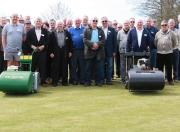 Delegates at a Dennis & SISIS bowling green maintenance seminar