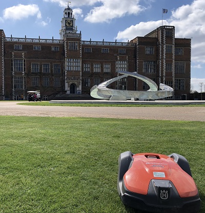 Automower at Hatfield House