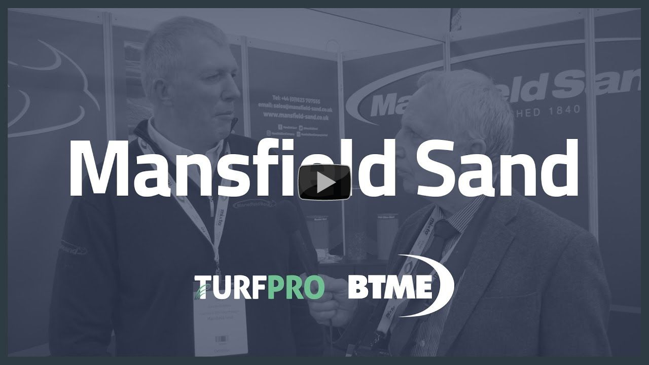 TurfPro at BTME 2020: Mansfield Sand's improvements for 2020