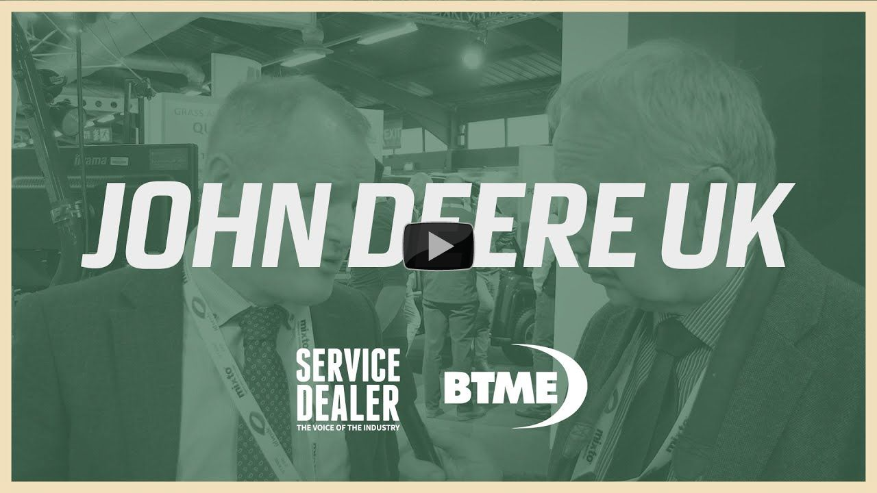Service Dealer at BTME 2020: John Deere's latest auto-tracking technology