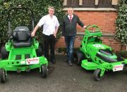 Ian Conroy, sales Manger of Stuart Taylors and Stuart Rose, sales manager of Overton (UK) Limited