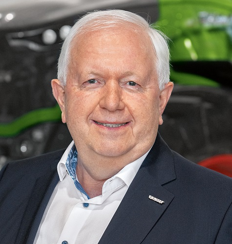 Peter-Josef Paffen, vice president & chairman of the AGCO/Fendt Executive Board is retiring