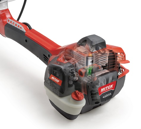 The new Mitox brushcutters have up to 60% more power