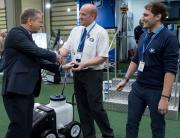 Fleet Line Markers' MAQA line marking machine won joint first place in the SALTEX innovation award.