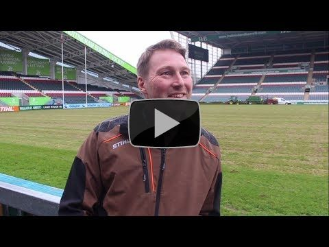 Tigers groundsman Ed Mowe chats about pitch overhaul