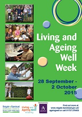 Cover of Living and Ageing Well Week prgramme
