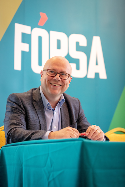 Earlier this year, Fórsa's Kevin Callinan led unions into talks when he said the PSSA was no longer adequate to maintain living standards and keep up with economy-wide wage settlements.