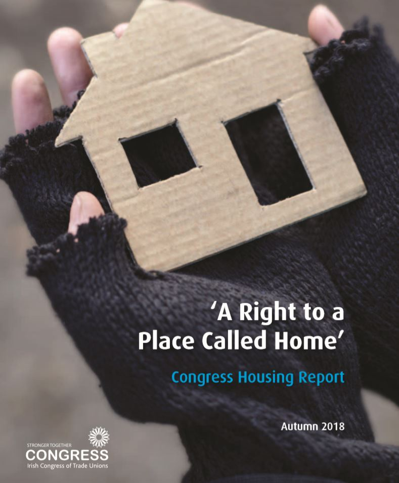 The lobby campaign focused on TDs in Fianna Fáil, Fine Gael and independents in government, and sought their support for the Congress Charter for Housing Rights.