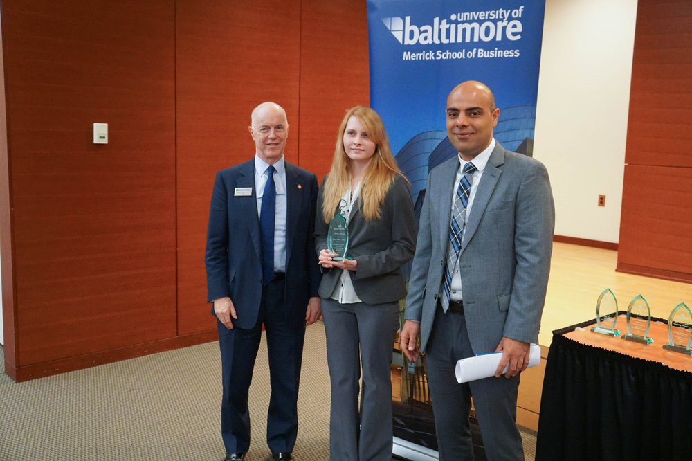 The International Business Merit Award goes to Lacie Lynne Thomas, B.S. '16