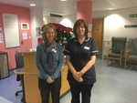 Louise Paterson, Clinical Team Leader and Julie Sanders (CNS) for Older People's Inpatients and Brysson Whyte Rehab Unit