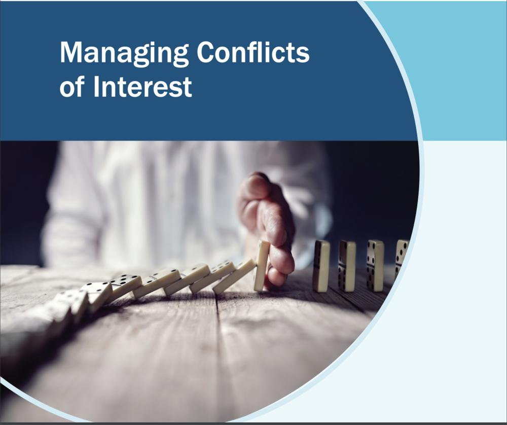 Managing Conflicts of Interest guidance document